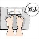 体重減少は病気の男性の秘密をお知らせです。