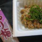 梅干と納豆でダイエットの効果は謎です。